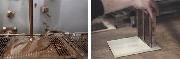 fabrication du chocolat laia