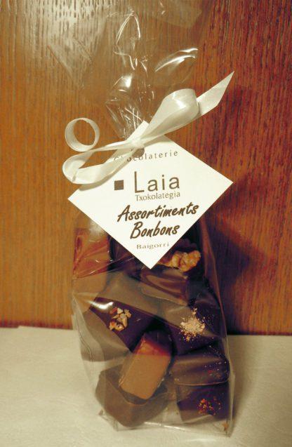 sachet de bonbons chocolat Laia